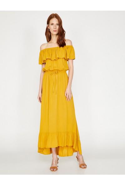 Koton Fırfır Detaylı Elbise