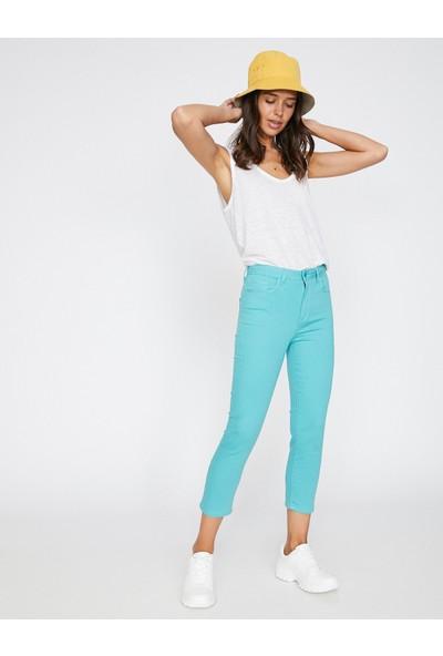 Koton Cep Detaylı Pantolon