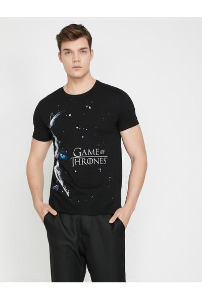 Koton Game Of Thrones Lisanli Baskılı T-Shirt