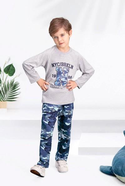 Arnetta Camouflage 1986 Grimelanj Erkek Çocuk Pijama Takımı
