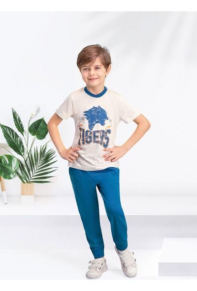 Arnetta Tiger's Kum Beji Erkek Çocuk Pijama Takımı