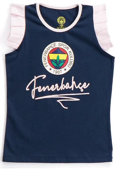 Fenerbahçe Lisanslı Kız Çocuk Atlet Lacivert