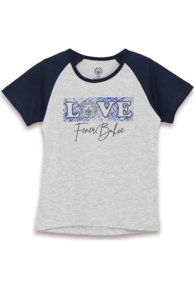 Fenerbahçe Lisanslı Kız Çocuk T-Shirt Karmelanj