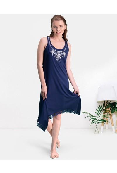 Pierre Cardin Lacivert Kadın Gündelik Elbise