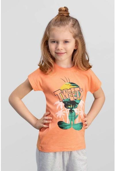 Looney Tunes Lisanslı Yavruağzı Kız Çocuk T-Shirt