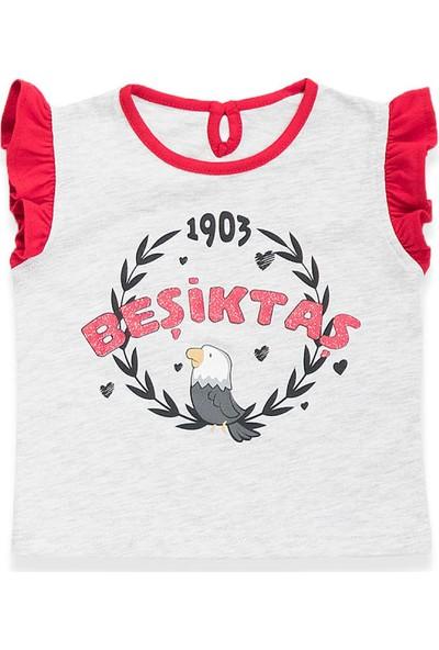 Beşiktaş Lisanslı Kız Bebek T-Shirt Karmelanj