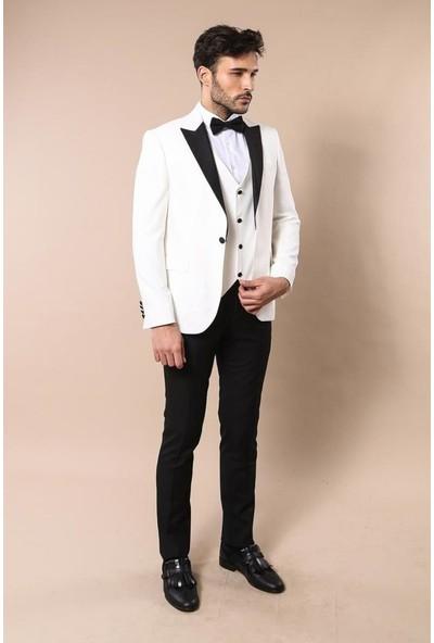 Wessi Beyaz Damatlık Takım Elbise