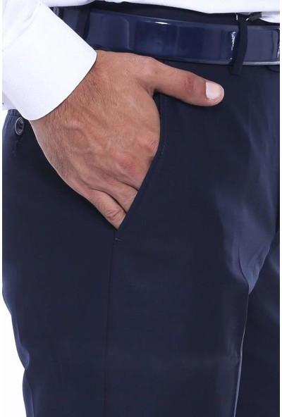 Wessi Desensiz Lacivert Kumaş Pantolon