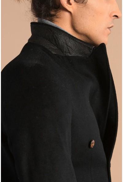 Wessi Kruvaze Slimfit Siyah Ceket