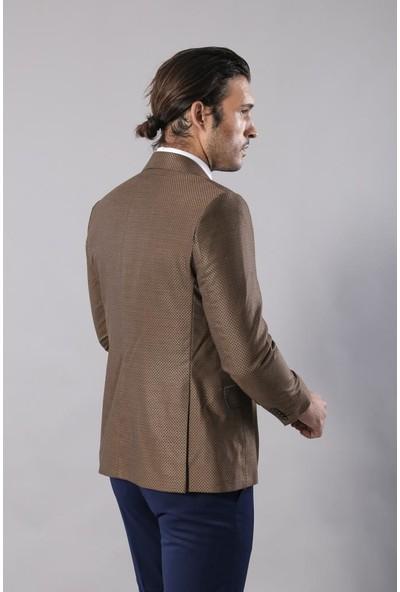 Wessi Yelekli Kahverengi Takım Elbise | Wessi