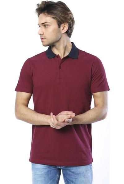 Twenty3 Kontras Yaka Pike Polo Yaka Erkek T-Shirt T3MTSH0004
