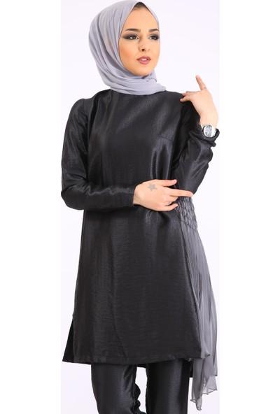 Puane Kadın Yeni Sezon Abiye Takım Siyah 1403500010