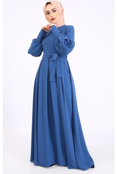 Puane Kadın Yeni Sezon Elbise İndigo 1202500014