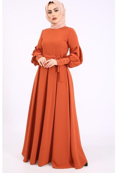 Puane Kadın Yeni Sezon Elbise Taba 1202500013