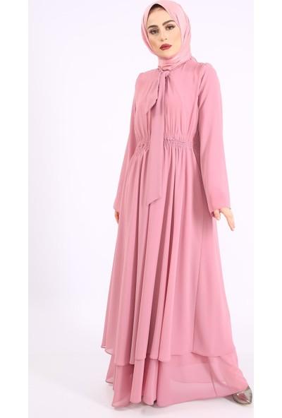 Loreen Kadın Yeni Sezon Elbise Gül 2203900056