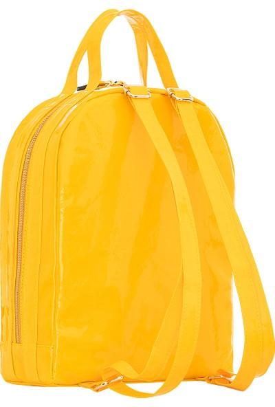 Basic Sarı Sırt Çantası