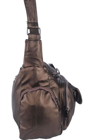 Just Polo Kadın Çapraz Askılı Çanta Bakır 1894
