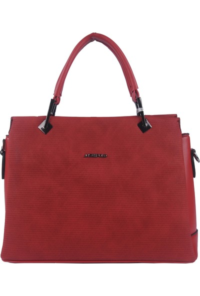 Just Polo Kadın Çapraz Askılı Çanta Kırmızı 1795