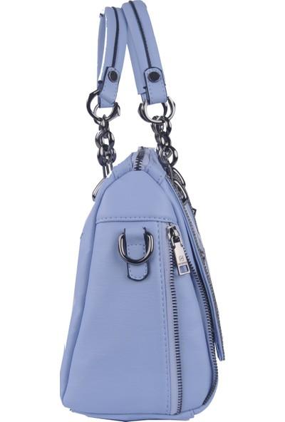 Just Polo Kadın Çapraz Askılı Çanta Mavi 1880