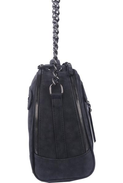 Just Polo Kadın Çapraz Askılı Çanta Siyah 1670