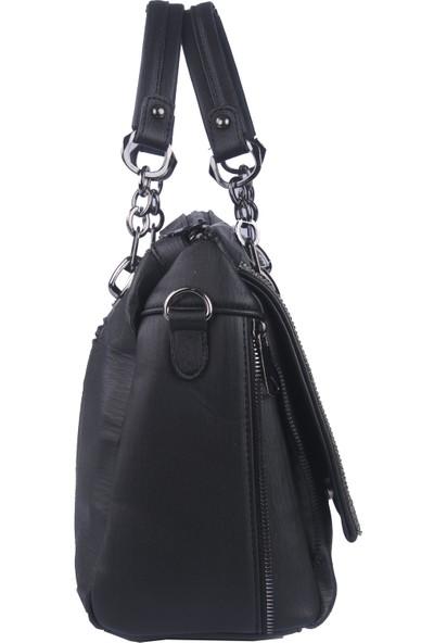 Just Polo Kadın Çapraz Askılı Çanta Siyah 1880