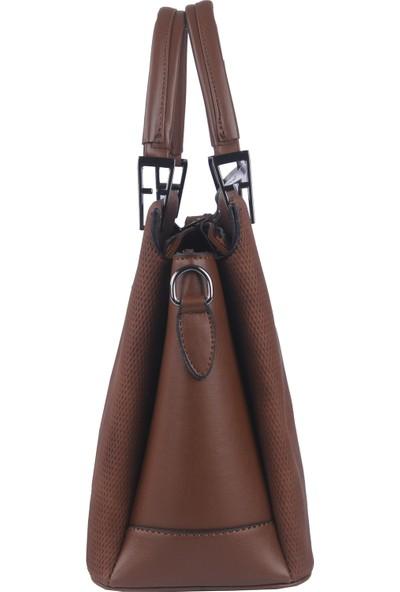 Just Polo Kadın Çapraz Askılı Çanta Taba 1795