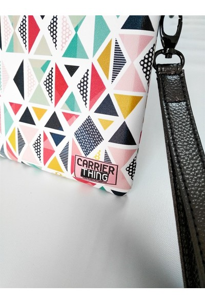 Carrier Thing Hand Mode Triangle Lover Clutch