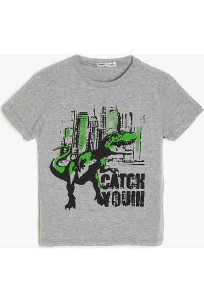 Koton Yazılı Baskil T-Shirt