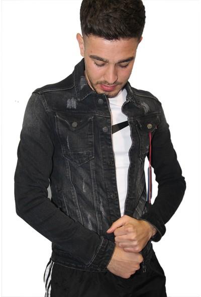 Goong Erkek Kot Ceket Likralı Dar Kesim Slim Fit