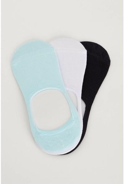Defacto Kadın 3'Lü Kısa Çorap Seti