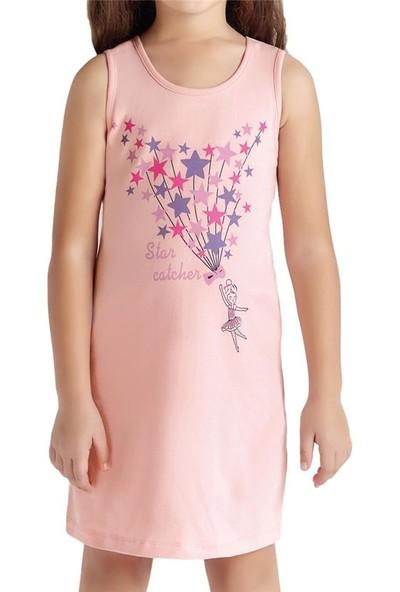 Baykar 9217 Kız Çocuk Kolsuz Elbise