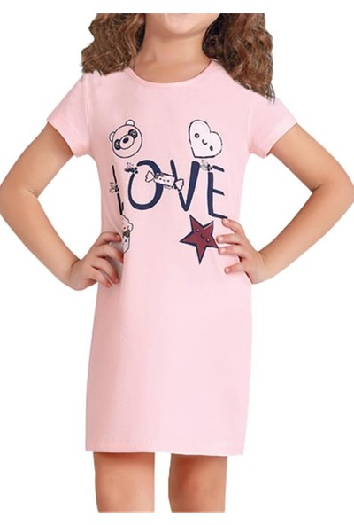 Baykar 9373 Kız Çocuk Ev Elbisesi