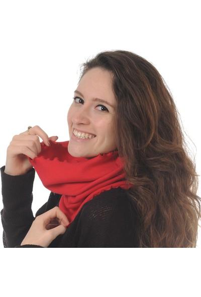 Butikgiz Kırmızı Renkli Boyunluk