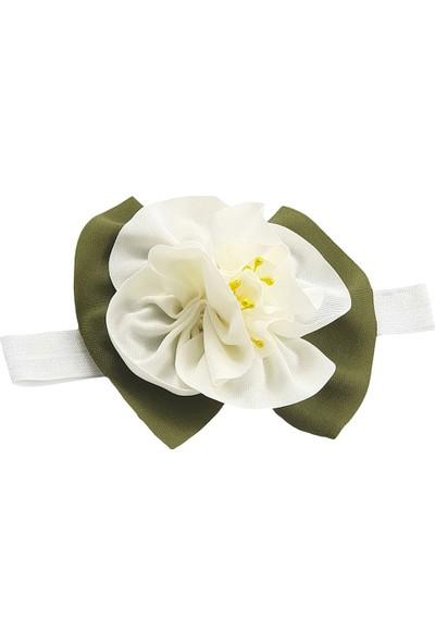 Babygiz Beyaz Çiçekli Saç Bandı