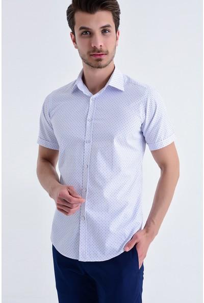 Hatemoğlu Baskılı Kısa Kol Gömlek