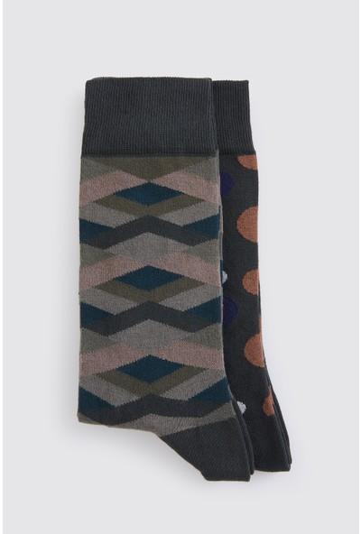 Hatemoğlu Desenli Çorap