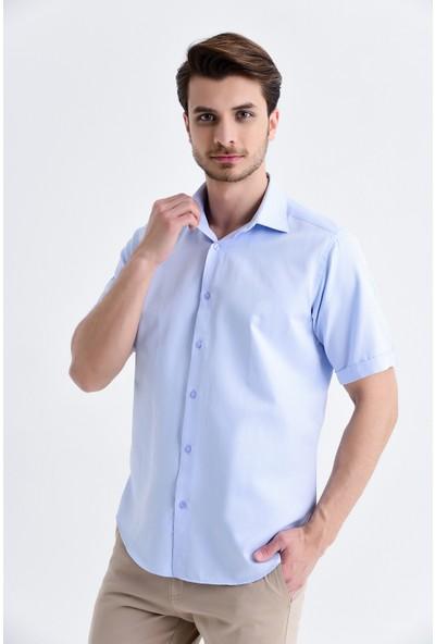 Hatemoğlu Desenli Regular Gömlek