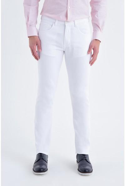 Hatemoğlu Desenli Regular Pantolon