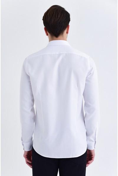 Hatemoğlu Düz Slim Fit Gömlek
