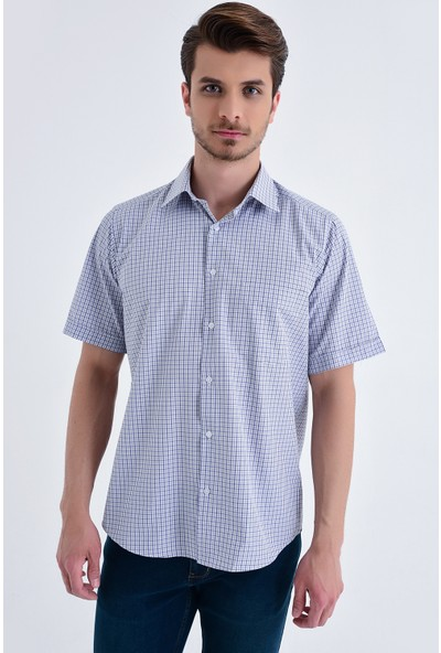 Hatemoğlu Kareli Klasik Gömlek