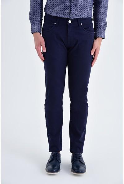 Hatemoğlu Lacivert Regular Pantolon