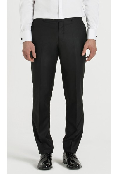Hatemoğlu Siyah Düz Dinamik Pantolon