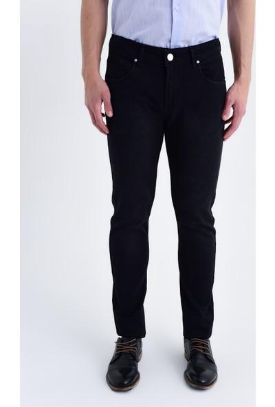 Hatemoğlu Siyah Slim Fit Pantolon