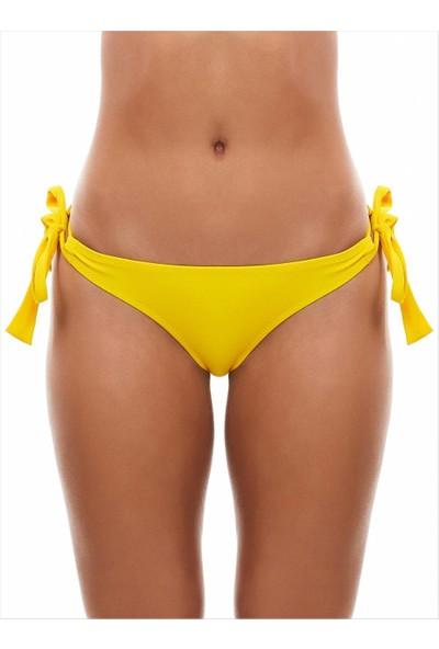 Ayyıldız Kadın 63049 Strıng Bikini Altı Sarı