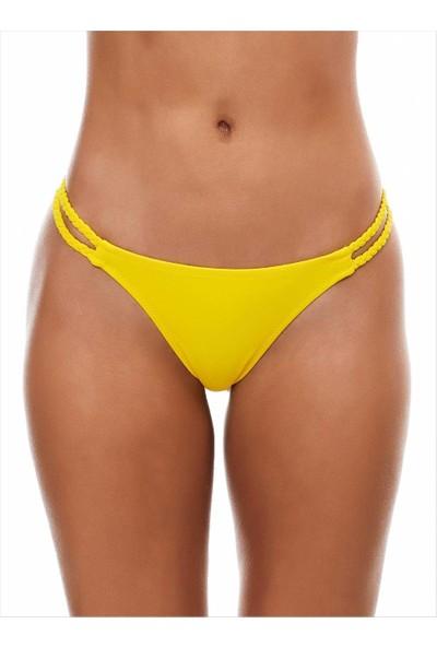 Ayyıldız Kadın 63050 Strıng Bikini Altı Sarı