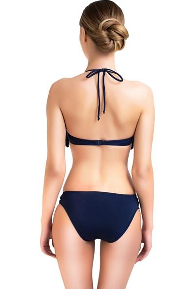 Sunlife Boyundan Bağlamalı Püsküllü Bikini