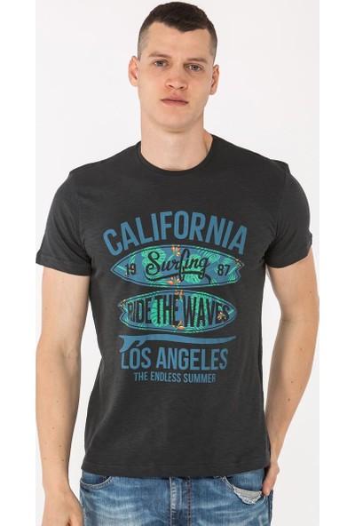 Mille Tafarı Erkek T-Shirt Antrasit