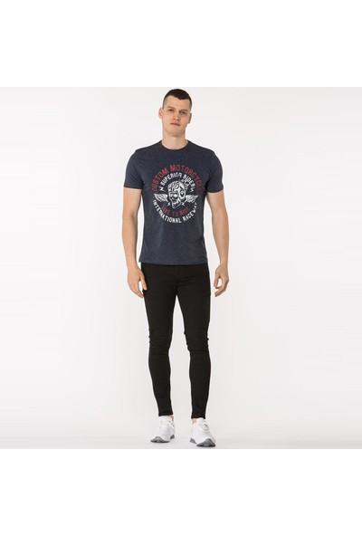 Mille Tamzen Erkek T-Shirt Lacivert