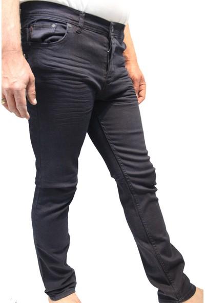 Saflee Likralı Oturtmalı Kalıp Pamuk Erkek Kot Pantolon