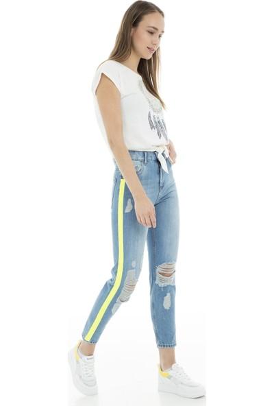 Quzu Jeans Bayan Kot Pantolon 23472078